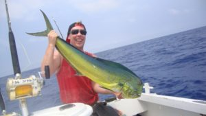 fishing in Vanuatu for mahi-mahi