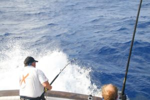 Fishing charters in Vanuatu provide plenty of action